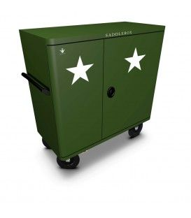 Buy Tack Box Military Star Double Custom