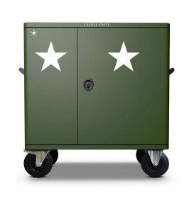 Buy Tack Locker Military Star Double Custom