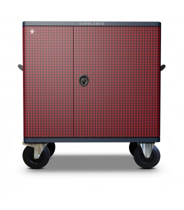 Buy Tack Locker Double Custom Red Tartan