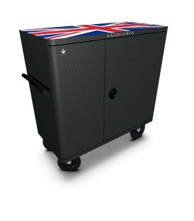 Buy Tack Box Double Custom Carbon UK